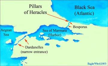 Sea Of Marmara Ancient Greece Map.The Atlantis Code