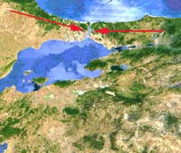 Bosporus  Map